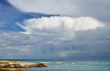 Nuvola minacciosa