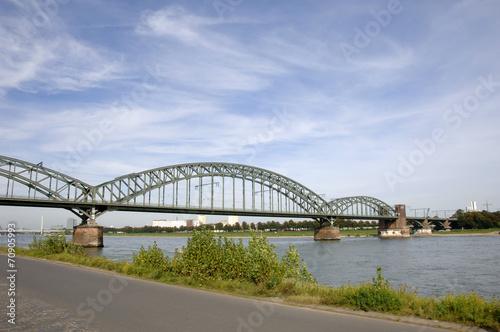 canvas print picture Brücke
