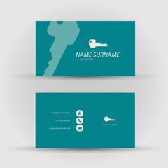 business card - locksmith