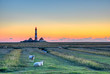 canvas print picture - Leuchtturm