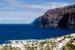 canvas print picture - Steilküste bei Los Gigantes, Insel Teneriffa