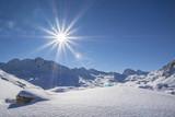 Fototapety Winter in den Bergen