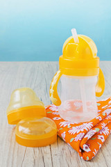 plastic baby bottle