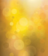 Vector bokeh golden background.