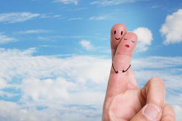 verliebte Finger