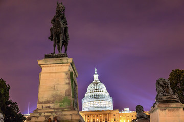 US Grant Statue Memorial US  Capitol Washington DC