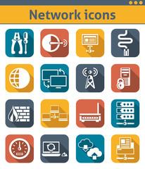 Network Icons Set