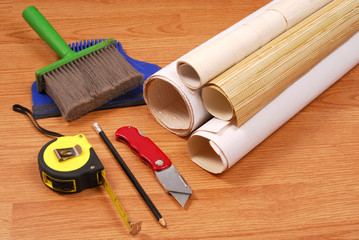 wallpaper and tools