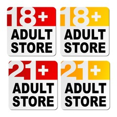 adult store signs