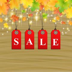 Herbst Sale SSV Hintergrund