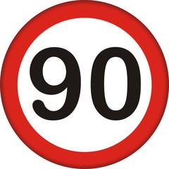 Verkehrszeichen, 90