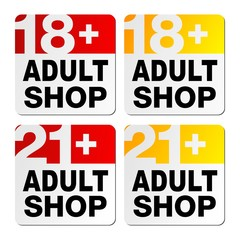 adult shop signs