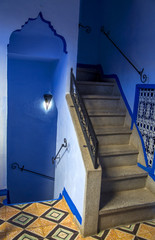 Chefchaouen town in Morocco