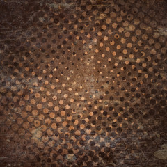 grunge halftone background with scratches