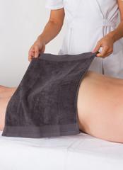 Préparation du massage