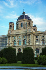 Square of Maria Theresa in Vienna