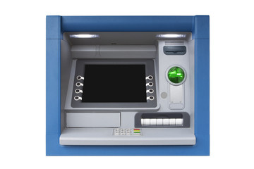 Isolated ATM cash machine