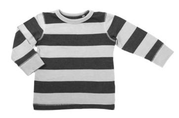 children's sweater on a white background