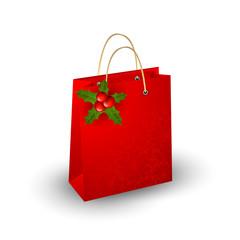 Christmas paper bag