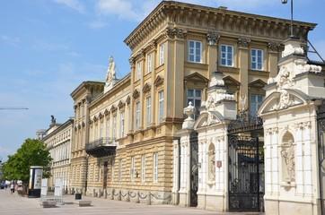 Entrée de l'université de Varsovie Pologne