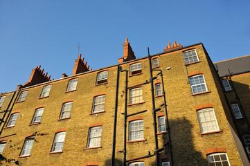 Backsteinhaus London Vorort Stepney Green
