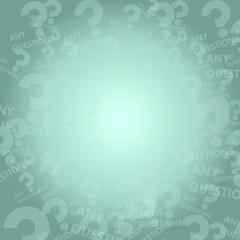 question symbol background