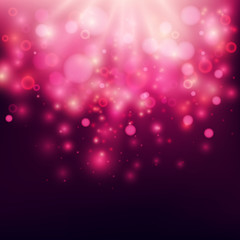 Purple Abstract Backdrop Bokeh Background