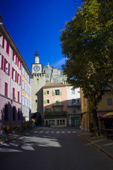 Mediterranean town, France