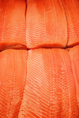Salmon texture