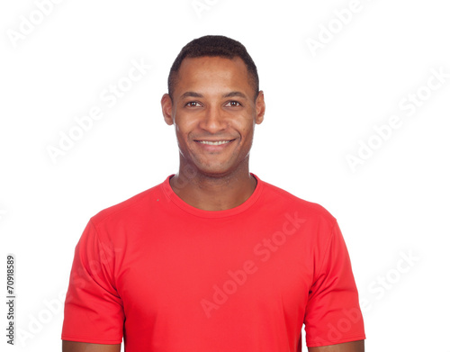 canvas print picture Smiling casual latin man