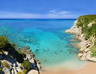 L'escalet Ramatuelle Beach near St-Tropez, Cote d'Azur