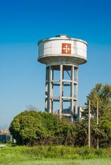 Cisterna d'acqua, Serbatoio, costruzione
