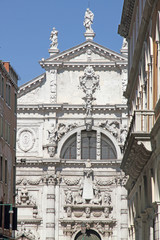 San Moises Church, Venice, Veneto, Venetia, Italy