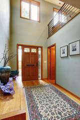 Entrance hallway in modern house