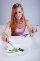 Dieting girl