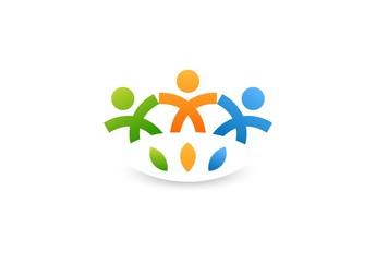 Team Partners Friends logo wellness health design.zip