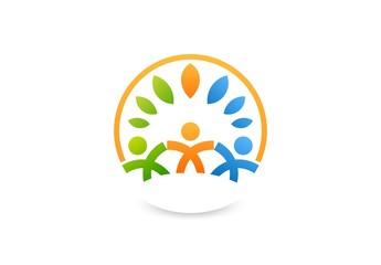 Team Partners Friends logo wellness health design