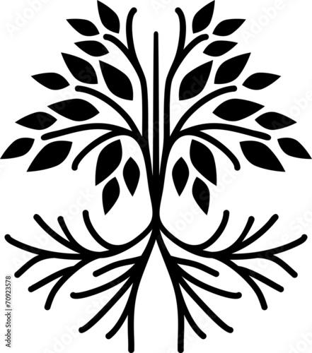 Simple tree icon