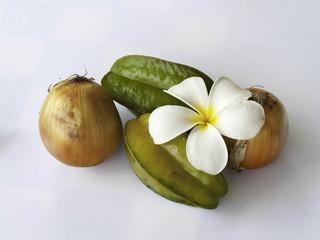 Onion Star Apple And Flower