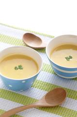 カボチャのスープ ポタージュ