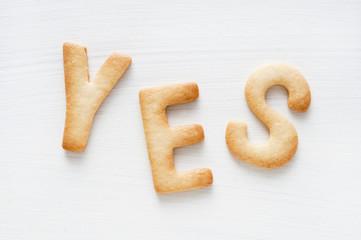 yes クッキー
