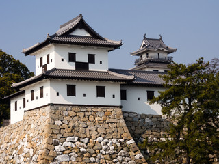 Japanese castle turret and keep