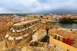 Tortosa from Suda castle. Spain