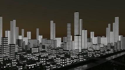 都市部の時間経過
