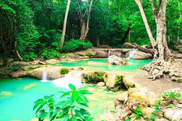 water fall, kanchanaburi thailand