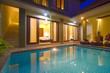 Tropical villa with a pool. - 70927791