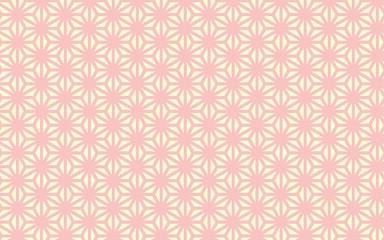 千代紙風の背景素材(麻の葉)