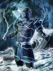 Baśniowy bóg władający piorunami