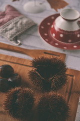 Chestnuts for jam