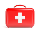 Red first aid kit - 70932532